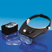 **Jan Special** Sorry this offer is now sold out<br>Lightcraft Deluxe LED Headband Magnifier Kit<br>